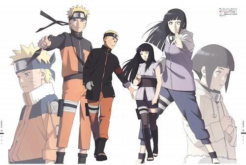 Naruto, The Art of Tetsuya Nishio Full Spectrum, Naruto Uzumaki, Hinata Hyuuga