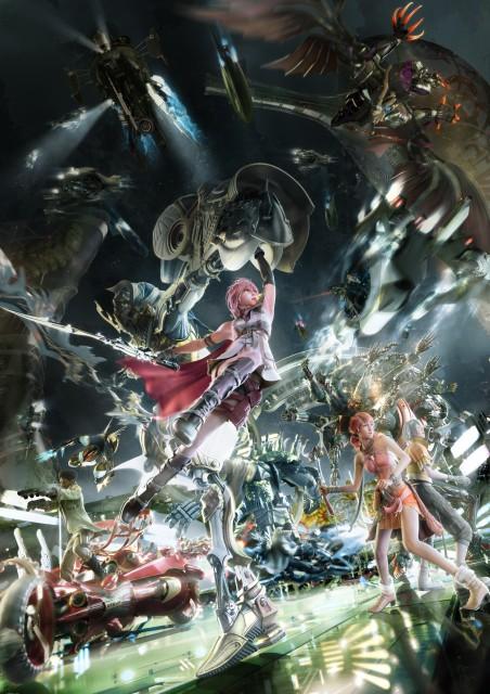 Square Enix, Final Fantasy XIII, Odin (Final Fantasy), Oerba Dia Vanille, Bahamut