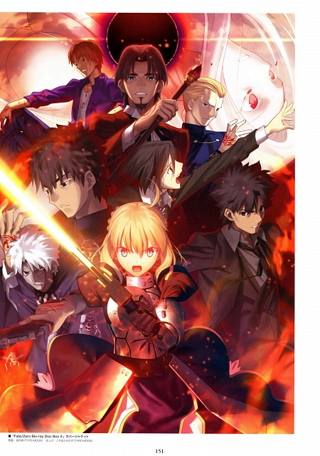 Takashi Takeuchi, TYPE-MOON, Ufotable, Fate/Zero, Fate/Zero Animation Visual Guide II