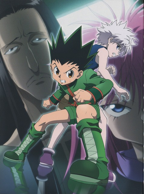 Yoshihiro Togashi, Madhouse, Hunter x Hunter, Hazama Nobunaga, Killua Zaoldyeck
