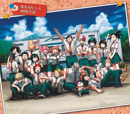 Kouhei Horikoshi, BONES, Boku no Hero Academia, Hanta Sero, Momo Yaoyorozu