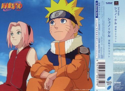 Studio Pierrot, Naruto, Sakura Haruno, Naruto Uzumaki, Album Cover