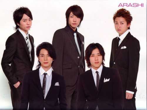 Arashi, Masaki Aiba, Jun Matsumoto, Kazunari Ninomiya, Sho Sakurai