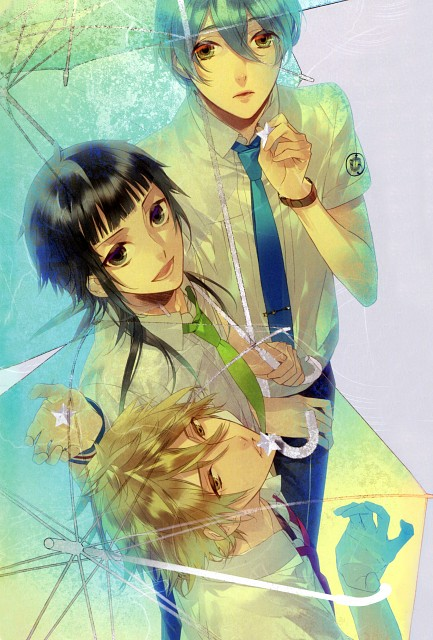 Kazuaki, Starry Sky Official Guide Complete Edition ~Summer Stories~, Starry Sky, Ryunosuke Miyaji, Homare Kanakubo