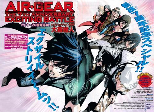 Oh! Great, Air Gear, Kazuma Mikura, Emily (Pandora Hearts), Itsuki Minami