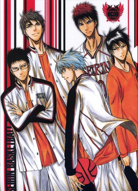 Tadatoshi Fujimaki, Kuroko no Basket, Tetsuya Kuroko, Junpei Hyuuga, Shun Izuki