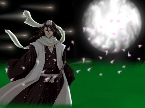Kubo Tite, Studio Pierrot, Bleach, Byakuya Kuchiki Wallpaper