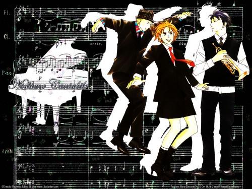 Nodame Cantabile, Ryuutarou Mine, Shinichi Chiaki, Megumi Noda Wallpaper