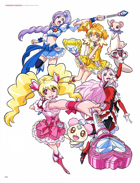 Toei Animation, Fresh Precure!, Hisashi Kagawa Toei Animation Precure Works, Chiffon, Cure Berry