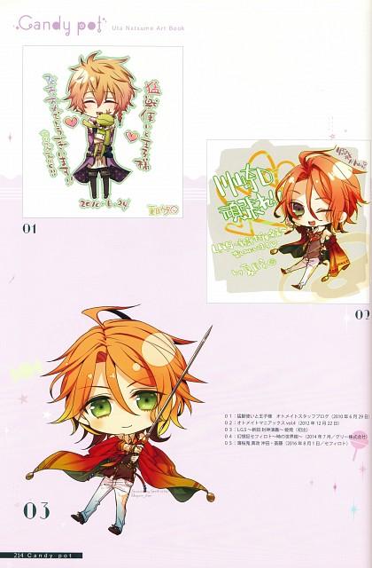 miko (Mangaka), Riri (Mangaka), Idea Factory, Candy Pot Uta Natsume Artbook, L.G.S ~Shinsetsu Houshinengi