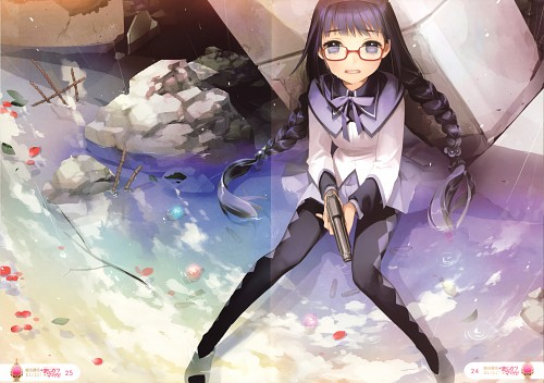 SALT (Mangaka), Shaft (Studio), Puella Magi Madoka Magica, Rensei Magi Majika? Majika!, Homura Akemi