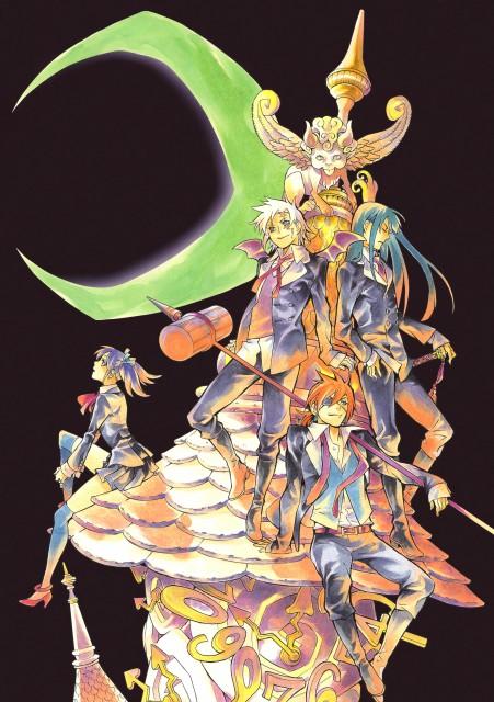 Katsura Hoshino, D Gray-Man, Noche - D.Gray-man Illustrations, Lavi, Yu Kanda