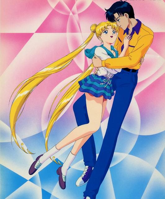 Toei Animation, Bishoujo Senshi Sailor Moon, Mamoru Chiba, Usagi Tsukino