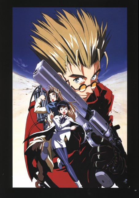 Yasuhiro Nightow, Madhouse, Trigun, Milly Thompson, Meryl Stryfe