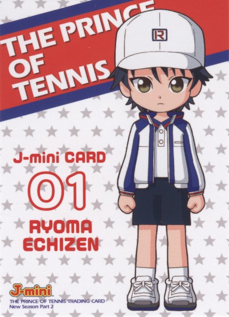 Takeshi Konomi, J.C. Staff, Prince of Tennis, Trading Cards