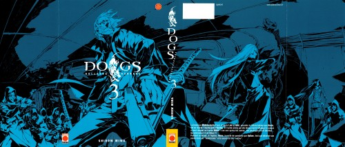 Dogs: Bullets and Carnage, Campanella Frühling, Ernest Rammsteiner, Mihai Mihaeroff, Manga Cover