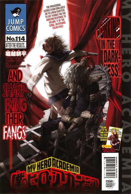 Kouhei Horikoshi, Boku no Hero Academia, Himiko Toga, Shigaraki Tomura, Chapter Cover
