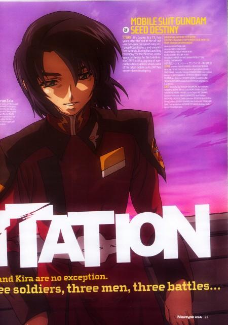 Sunrise (Studio), Mobile Suit Gundam SEED Destiny, Athrun Zala, Newtype Magazine