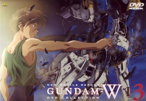 Sunrise (Studio), Mobile Suit Gundam Wing, Heero Yuy, DVD Cover