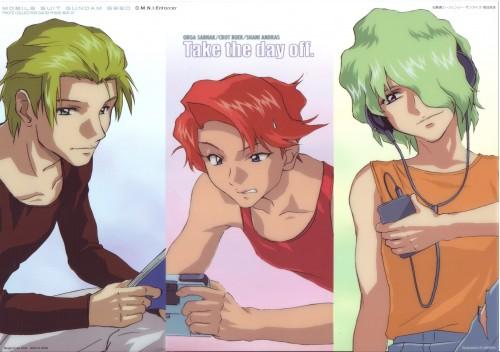 Sunrise (Studio), Mobile Suit Gundam SEED, Crot Buer, Shani Andras, Orga Sabnak