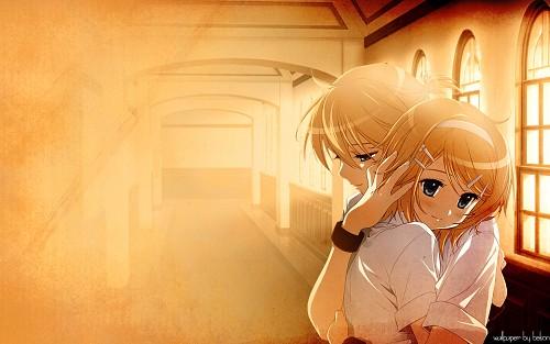 Dmyo, Vocaloid, Rin Kagamine, Len Kagamine Wallpaper