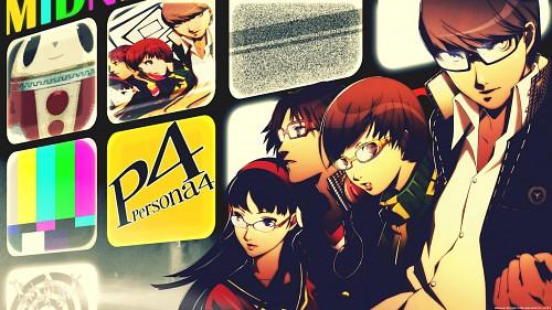 Shigenori Soejima, Atlus, Shin Megami Tensei: Persona 4, Yosuke Hanamura, Chie Satonaka Wallpaper