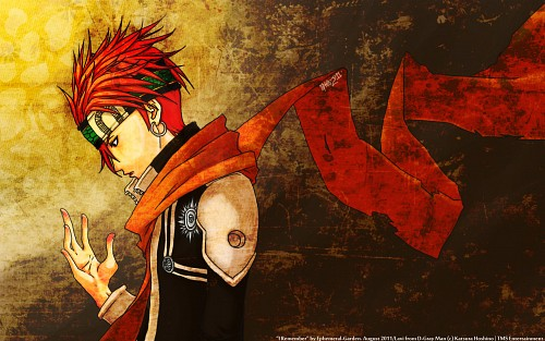 D Gray-Man, Lavi, Member Art Wallpaper