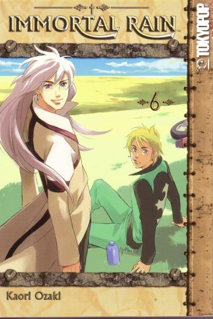 Kaori Ozaki, Immortal Rain, Eury Evans, Manga Cover