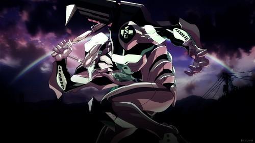 Yoshiyuki Sadamoto, Gainax, Neon Genesis Evangelion, Unit-01 Wallpaper