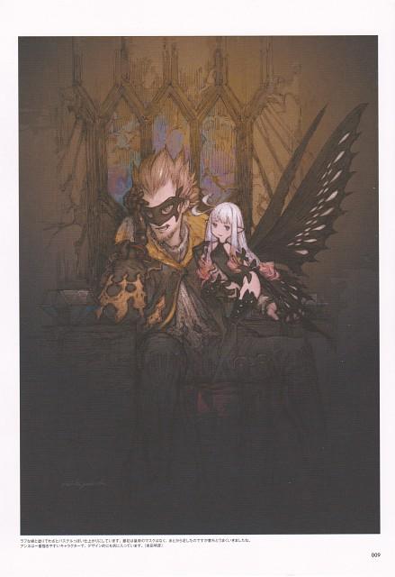 Akihiko Yoshida, Square Enix, Bravely Second, Emperor Oblivion, Anne (Bravely Second)