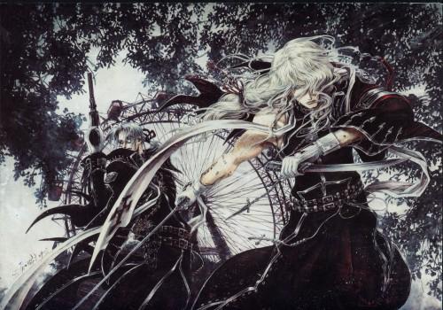 Shibamoto Thores, Gonzo, Trinity Blood, Abel Nightroad, Hugue De Watteau
