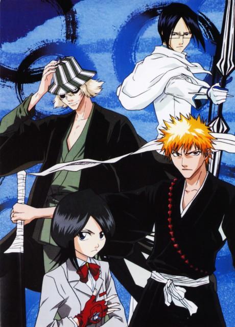 Studio Pierrot, Bleach, Rukia Kuchiki, Ichigo Kurosaki, Kisuke Urahara