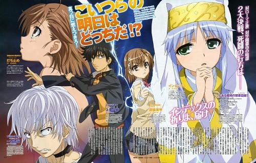 J.C. Staff, To Aru Majutsu no Index, Touma Kamijou, Accelerator, Index Librorvm Prohibitorvm