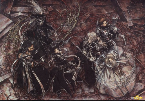 Shibamoto Thores, Gonzo, Trinity Blood, Hugue De Watteau, Tres Iqus