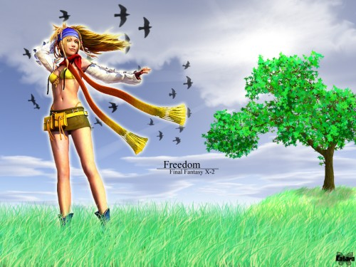 Square Enix, Final Fantasy X-2, Rikku Wallpaper