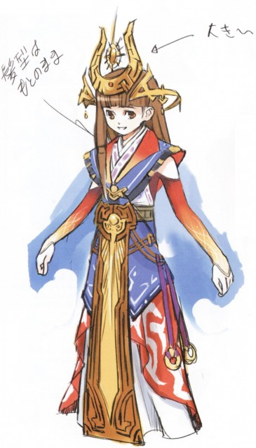 Konami, Art of Suikoden 5, Suikoden V, Lymsleia Falenas
