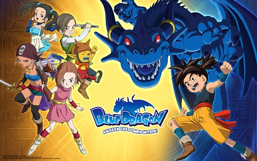 Akira Toriyama, Studio Pierrot, Blue Dragon, Bouquet (Blue Dragon), Shu (Blue Dragon)