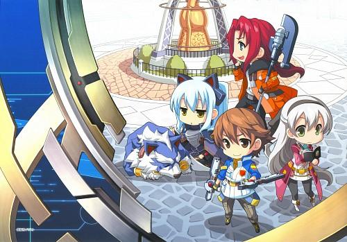 Falcom, The Legend of Heroes Illustration Artbook, The Legend of Heroes: Ao no Kiseki, The Legend of Heroes: Zero no Kiseki, Tio Plato