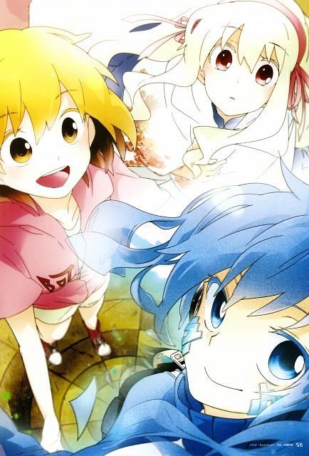Wannyanpu, Shaft (Studio), Kagerou Days, Kagerou Days Official Visual Fan Book, Mary Kozakura