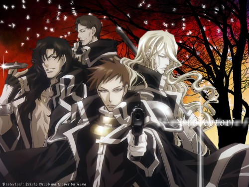 Gonzo, Trinity Blood, William Walter Wordsworth, Hugue De Watteau, Leon Garcia de Asturias Wallpaper