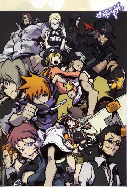 Square Enix, The World Ends With You, Yoshiya Kiryu, Sanae Hanekoma, Kariya Koki
