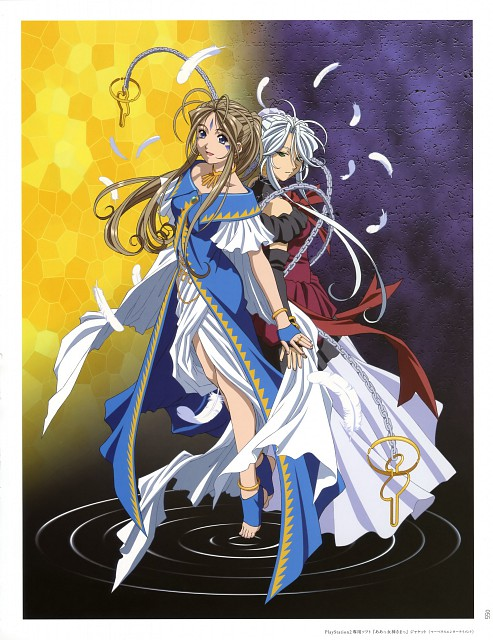 Hidenori Matsubara, Anime International Company, Ah! Megami-sama, Matsubara Hidenori Illustration Works, Belldandy