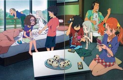 A-1 Pictures, AnoHana, Chiriko Tsurumi, Meiko Honma, Tetsudou Hisakawa