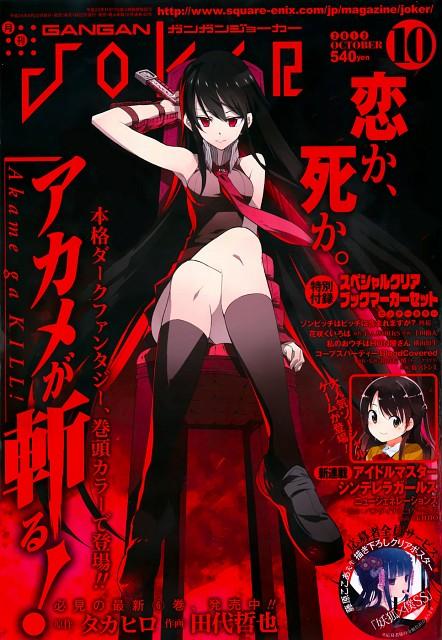 Tetsuya Tashiro, Akame ga Kill!, Akame (Akame ga Kill!), Gangan Joker, Occupations