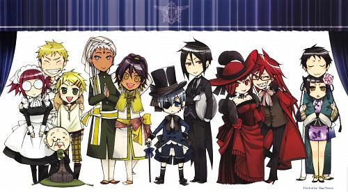 A-1 Pictures, Kuroshitsuji, Kuroshitsuji Character Guide, Agni, Tanaka