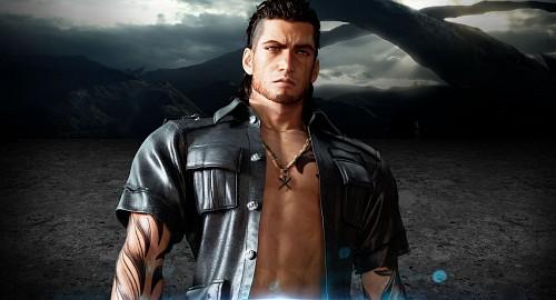 Square Enix, Final Fantasy XV, Gladiolus Amicitia, Official Digital Art