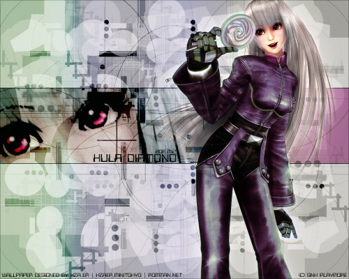 SNK, King of Fighters, Kula Diamond Wallpaper