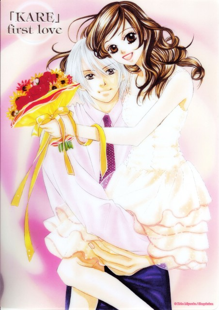 Kaho Miyasaka, Kare First Love, Karin Karino, Aoi Kiriya, Manga Cover
