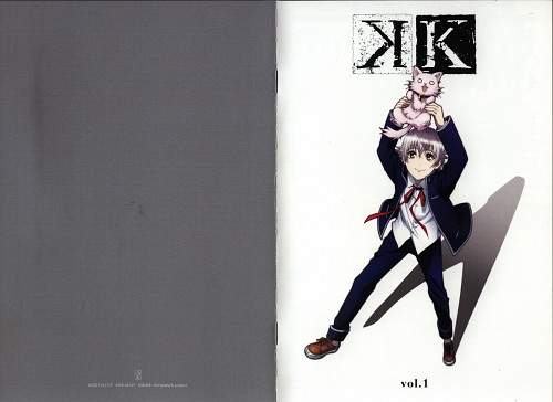 GoHands, K Project, Neko (K Project), Yashiro Isana, DVD Cover
