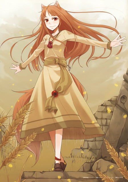 Juu Ayakura, Spice and Wolf, Horo